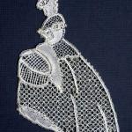 Crinoline Lady (small) - Honiton Lace Making Pattern