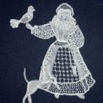 Elizabethan Girl - Honiton Lace Making Pattern
