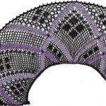 """Torchon Fan """"Clematis"""" – Lace Making Pattern"""