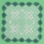 Jade Square - Torchon Lace Making Pattern Download