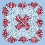 Ruby Square - Torchon Lace Making Pattern Download