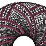 "Torchon Fan ""Rose"" – Lace Making Pattern"